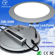 CE ROHS 3w/4w/6w/9w/12w/15w/18w/24w/30w round led ceiling lighting suppliers