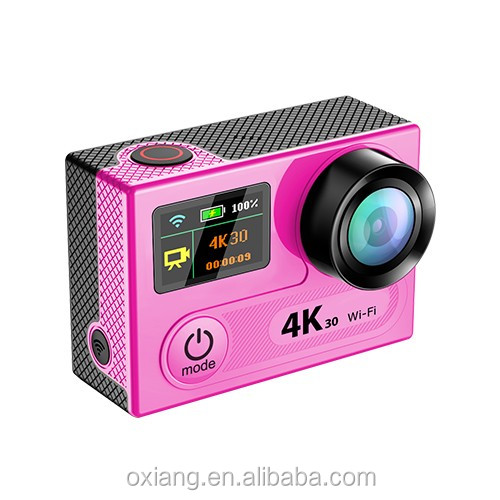 Dual Screen 4K 30Fps Sport Acction Camera 360degree VR Sport Camera