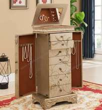 Decorating Ideas Floor Standing Mirror Jewelry Cabinet