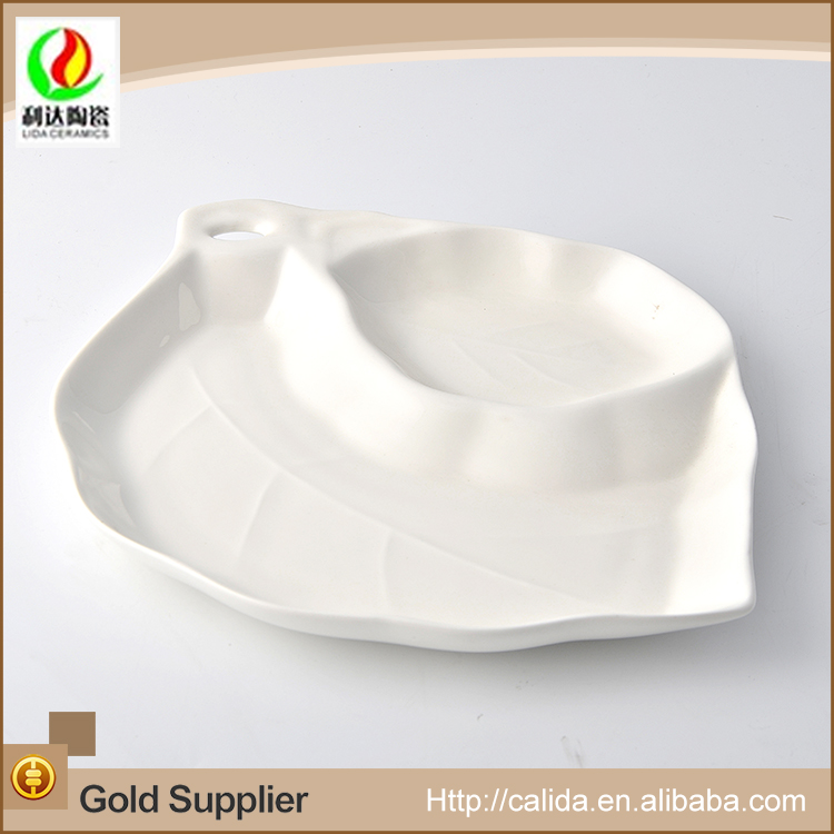 Unique design customized good quality LD11706 dinner plate with high quality