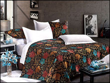 2015 cotton luxury Jacquard satin used hotel bed sheets set 5 star hotel bedding