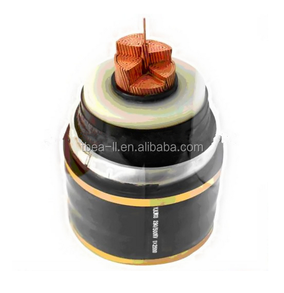 underground 220kv power cable/220kv xlpe power cable/high voltage underground cable