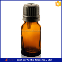 Top Quality Amber 10 ml Glass Bottles with Droppers