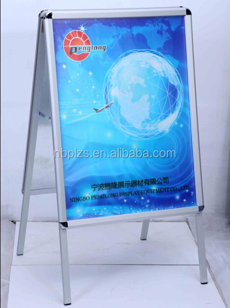 Double side A1 aluminum outdoor a frame sign holder