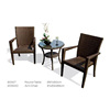 Synthetic Rattan 2 Seater Coffee Shop