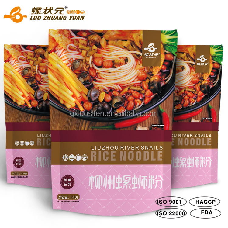 Healthy Dried Liuzhou river snail rice noodle