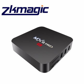 MXQ Pro Android 6.0 TV Box 1G 8G H.265 Quad Core Amlogic S905X Media Player HD 4K 2.4Ghz WiFi Set Top
