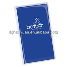 2013 pvc wholesale tally book with stone paper for gift