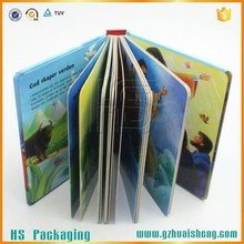 OEM Design Laminated Children Education Book With Handle