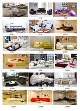 high quality raw material leather sofa
