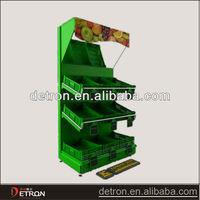 Floor standing fruit and vegetable display stand BW-1164