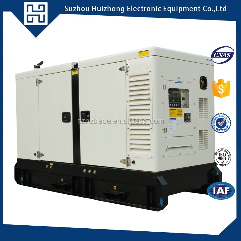 Low price powered by cummins sound proof 20 kva electric diesel power generator for sale