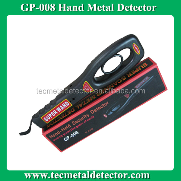 Shaking&Buzzer Alarm Handy Metal Detecting Scanner GP-008