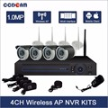 Hot Selling home security 4CH WIFI NVR Kit 720P Wifi IP Camera Wireless Camera kit