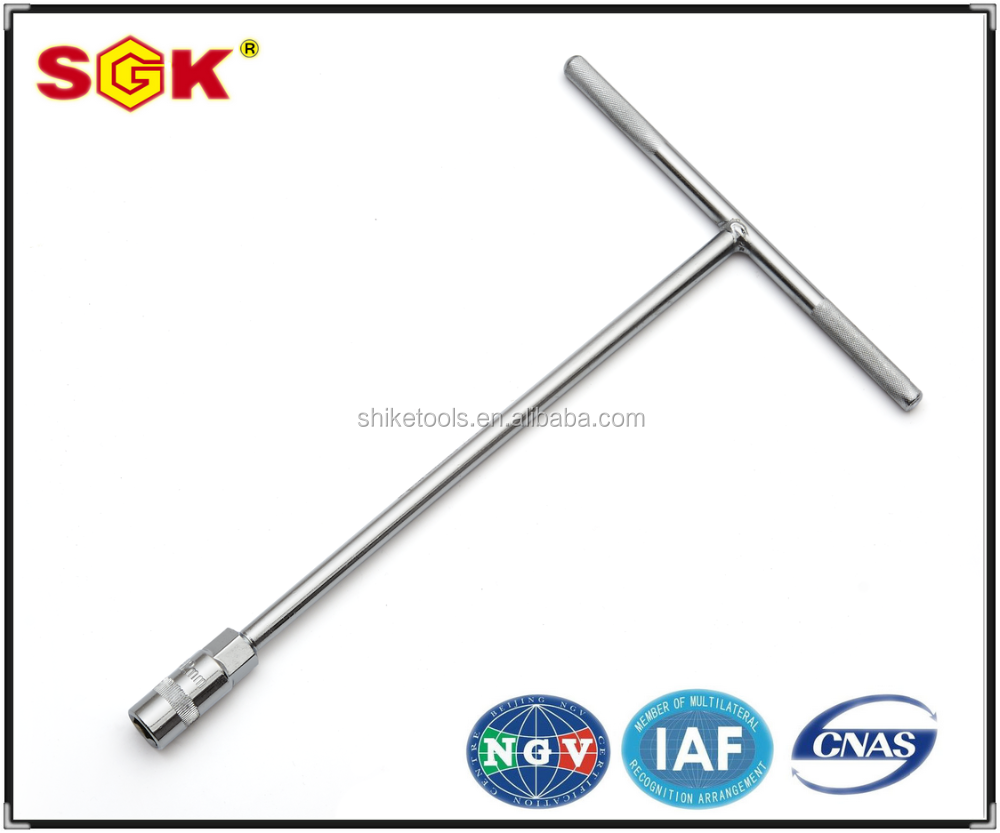 Chrome Vanadium Steel T type socket wrench