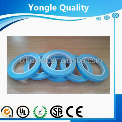 Blue Fine Line Masking Vinyl Tape Waterproof