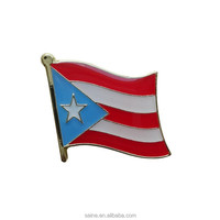 Puerto Rico National lapel pin clasp or tie pin
