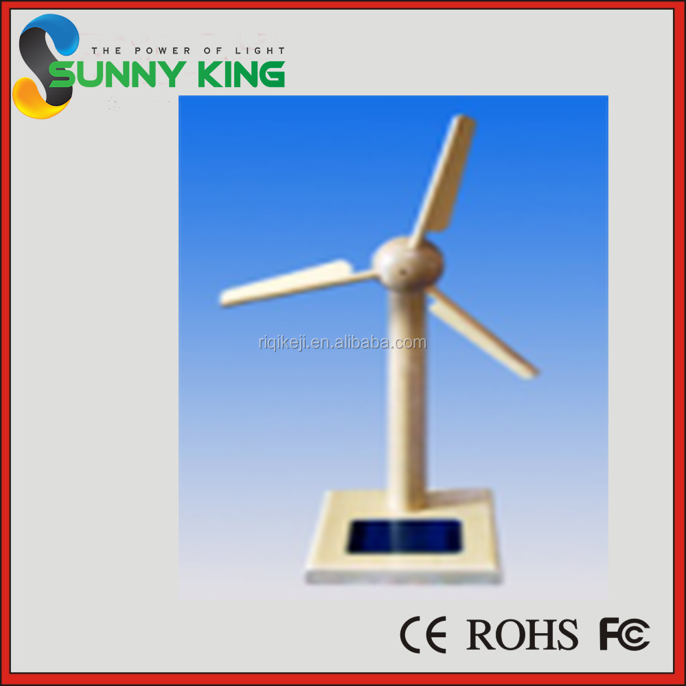 Environmental Kids Plastic Mini Solar Windmill Kit Toy Solar Toy