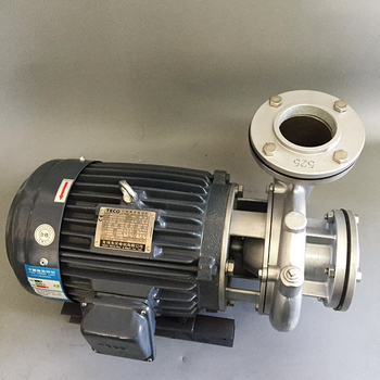 Acero inoxidable bomba de agua/High temperature resistant horizontal stainless steel Centrifugal Pump