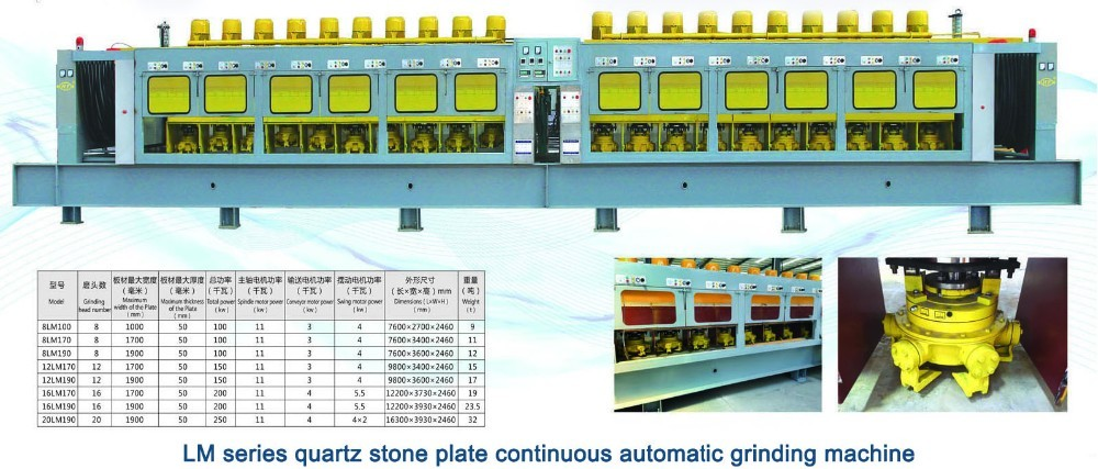Hongfa Artificial quartz slab machine plant
