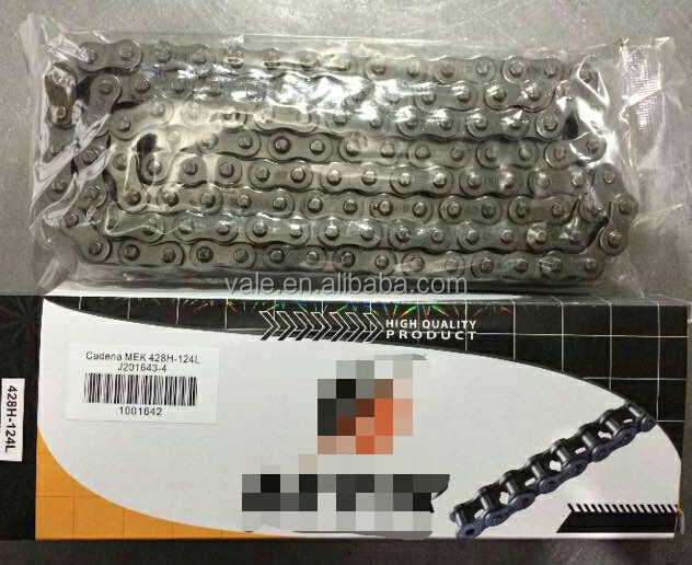 high quality motorcycle chain 428H golden or normal