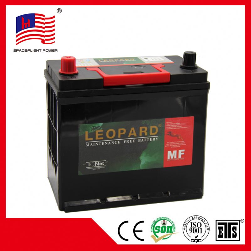 korean 12V45AH JIS Global car battery manufacturer