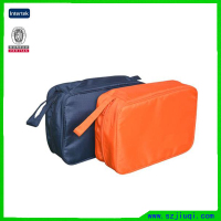 Customization waterproof nylon cosmetic bag for men