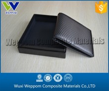 High-Grade Carbon Fiber And Leather Wallet & Purse Exporting