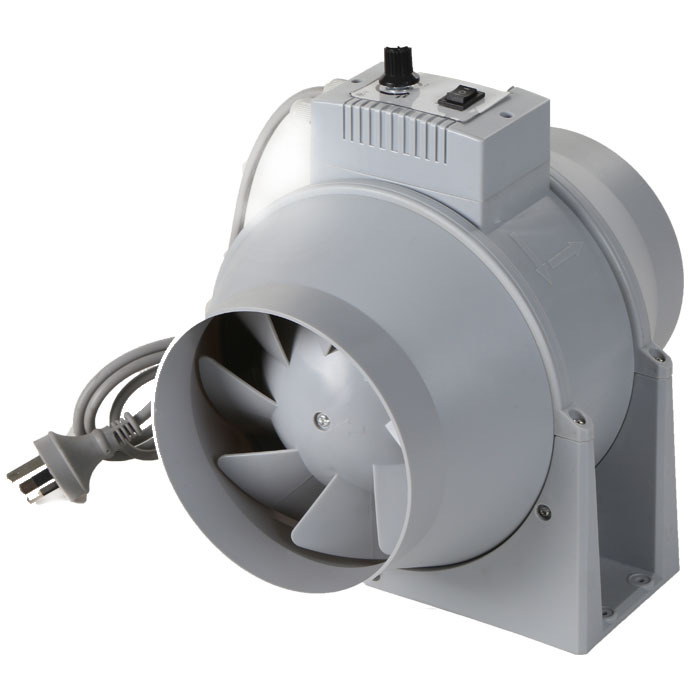 Inline Fan Installation : Portable kitchen exhaust fan install inline duct