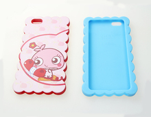 Hot Selling Customized Beautiful Cartoon Silicone Phone Case For Iphone 7 7 Plus