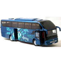 Made in China 1:43 alloy die cast bus model manufactured in China