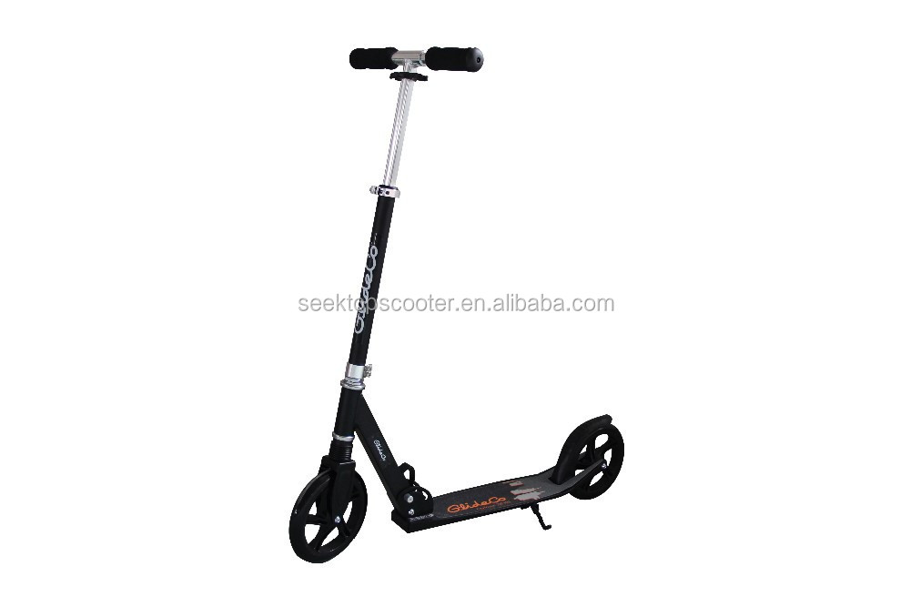 full aluminum big wheel town-7 foot kick scooter with 200mm wheels