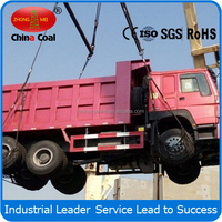 Large loading capacity 6x4 dump tipper Truck