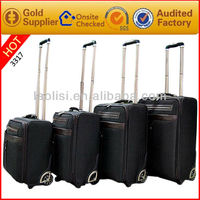 2013 new fashion travel duffel bag luggage wheels parts