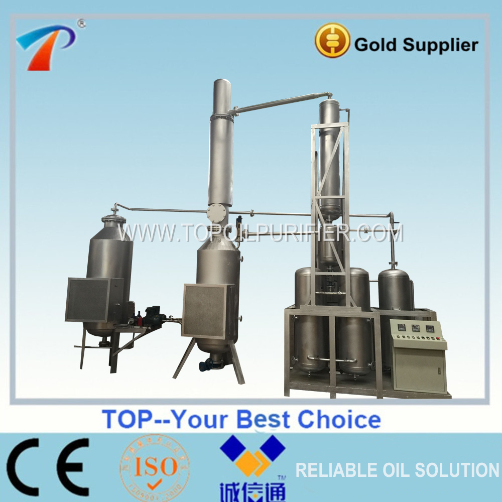 Waste Oil Recover Treatment,Engine Oil Distillation System,Pyrolysis Oil Distillation Plant