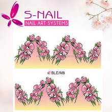 New Arrival Water Transfer Nail Art Stickers Cute Design Decoration nail sticker