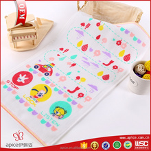 100% nonwoven cotton rayon compressed children towel hand towel