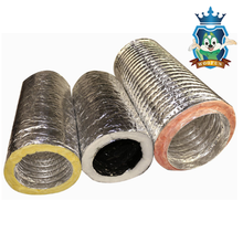 Factory direct high quality round pre insulated duct