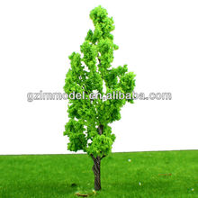 scale 9cm iron wire cedar tree/fir tree moel by Handmade for Train Layout HO scale model decoration model materials