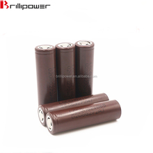 Wholesale chocolate color LG HG2 18650 3000mAh 3.7V Rechargeable Li-ion HG218650 3000mAh high power battery cell