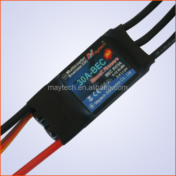 Maytech brushless motor esc combo Simonk 30A 4S BEC 3D for quadcopter