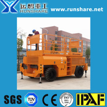manufacturer: rough terrain type 16m self propelled diesel scissor lift