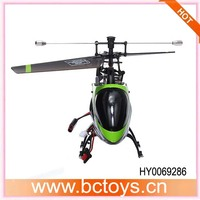 Hot sell !! FX078 44cm middle size single blade 2.4g 4ch alloy attop toys helicopter rc with gyro HY0069286