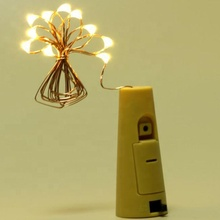 Factory Outlet Led Color Changing Wine Bottle Light Battery Powered Bottle Cork String Lights Wholesale