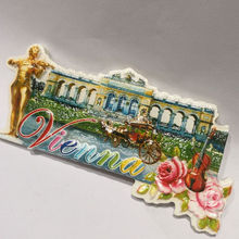 Schloss Schonbrunn Vienna Souvenir Gift Cities Fridge Magnet