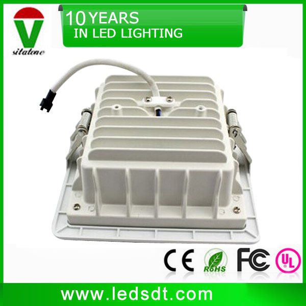 4 inch square led recessed downlight 12w 15w