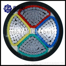 3core / 4 core Aluminium conductor / XLPE / PVC Insulated power cable