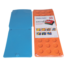 Clothes Folding Board, Flip Fold Clothes Folder, Plastic T-shirt folder Magic clothes folder