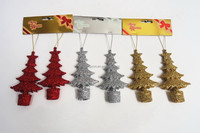 13*6.9cm garland outdoor christmas tree bauble