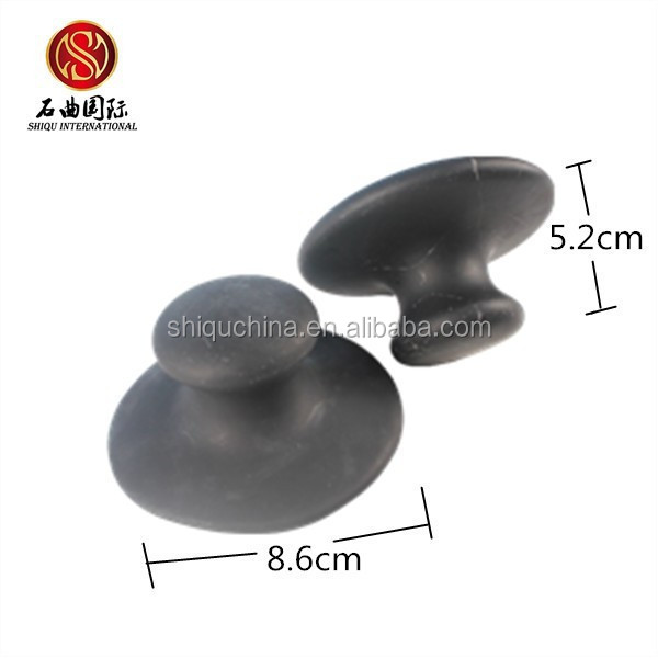 HOT jade heat therapy products black basalt massage stones